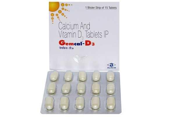Gemcal D3 Tablet
