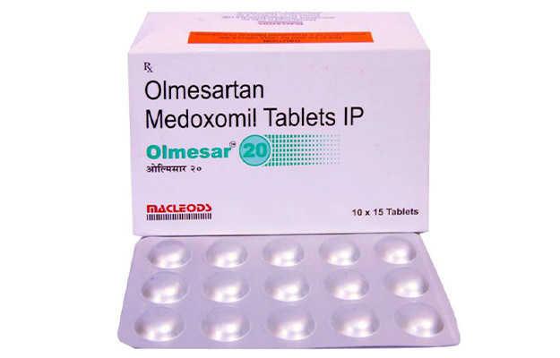 Olmesar 20 Tablet (15)