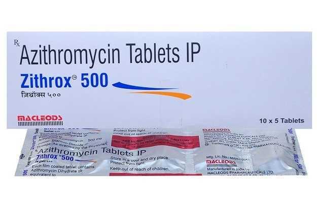 Zithrox 500 Tablet (5)