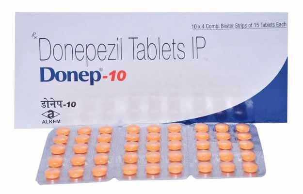 Donep 10 Tablet
