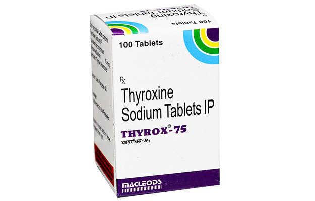 Thyrox 75 Tablet