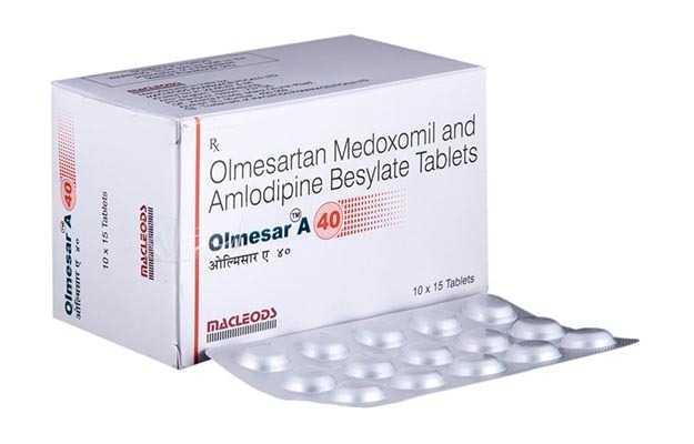 Olmesar A 40 Tablet (15)