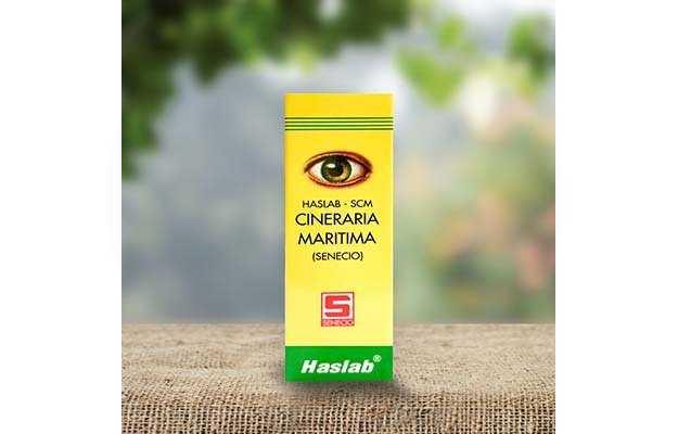 Haslab Scm Cineraria Maritima Eye Drop