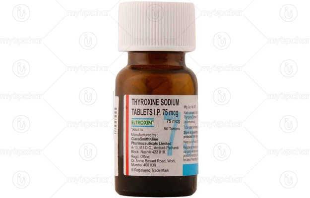 Eltroxin thyroxine sodium high