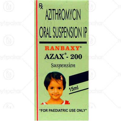 Azax 200 Oral Suspension